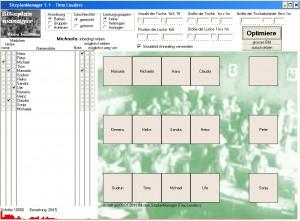 Sitzplanmanger Screenshot