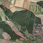 Fahrradtour in Google-Earth