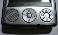 A632 mit Lautsprecher und Hardwaretasten