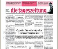 taz-Ausgabe der Lehrerrundmail