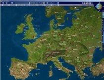 Diercke Globus - Satellitenbild von Europa