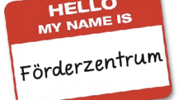 Name: Förderzentrum