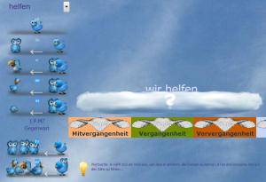 Screenshot Zeitflügel - Personalformen