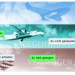 Screenshot Zeitflügel - Zeitstufen