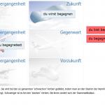 Screenshot Zeitflügel - Modul Karten