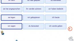 Screenshot Zeitflügel - Abräumen