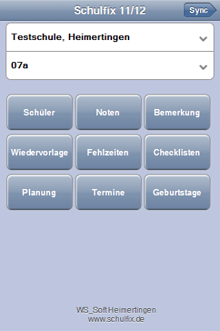 Schulfix Android Screenshot