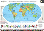 Weltkarte des bmz