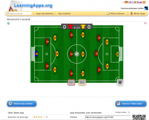 LearningApps Screenshot