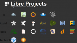 Libre Projects Screenshot