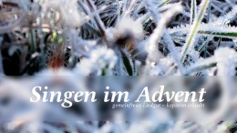 Singen im Advent