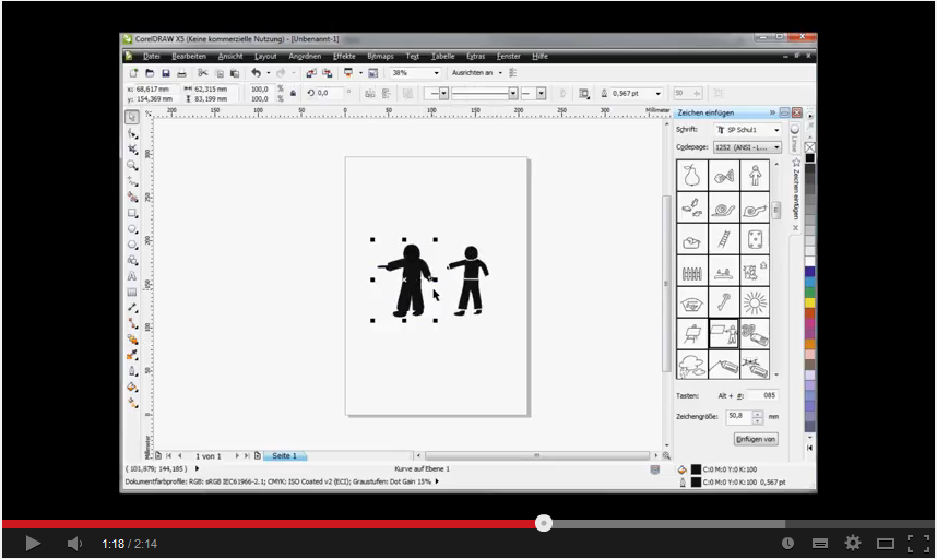 coreldraw sceencast screenshot
