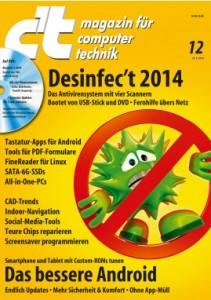 c't desinfec't Cover