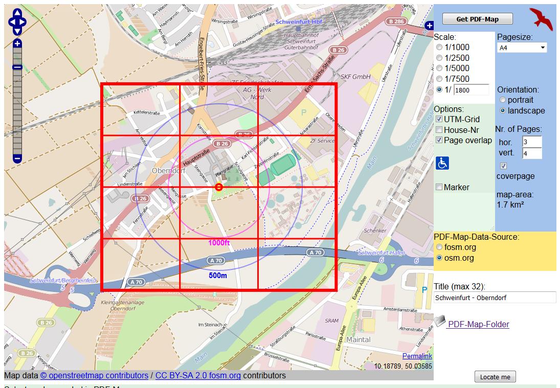 OpenStreetMap zum Ausdrucken › Lehrerrundmail