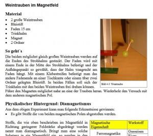 Physikalische Freihandversuche Screenshot