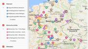 Historische Lernorte interaktive Karte