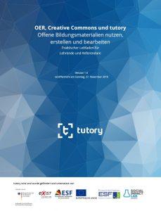 Tutory OER-Leitfaden